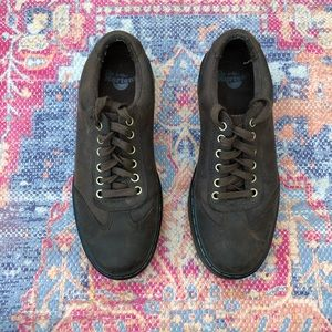 Dr. Martens brown leather lace up shoes